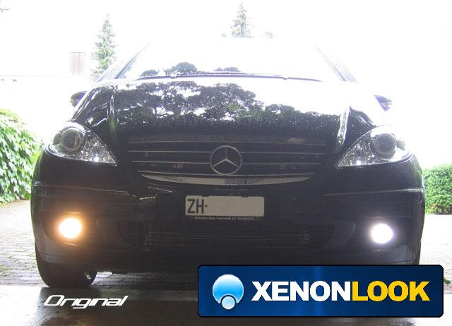 Mercedes A Klasse W169 Xenonlook Superwhite H11 Fog Lights